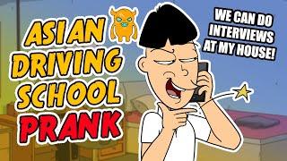 getlinkyoutube.com-Asian Driving School Prank - Ownage Pranks