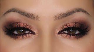 getlinkyoutube.com-Copper Eyes - Zoeva Rose Golden Palette | Valentine's Day MakeUp | Shonagh Scott | ShowMe MakeUp