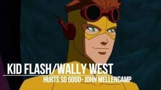 getlinkyoutube.com-{Young Justice} Character themes