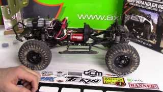 """getlinkyoutube.com-Axial Racing SCX10 G6 """"Red Devil Recon"""" Upgrade! - Axial Racing Locked Transmission Gears"""