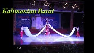 Parade Tari Nusantara tmii 2015 'KALIMANTAN BARAT'