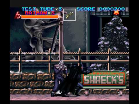 Batman Returns - Batman Returns (SNES) - 1st Time Playing - User video
