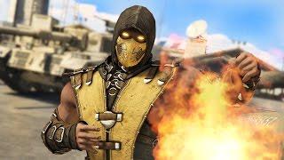 getlinkyoutube.com-GTA 5 Mods - MORTAL KOMBAT SCORPION MOD!! GTA 5 Mortal Kombat Mod Gameplay! (GTA 5 Mods Gameplay)