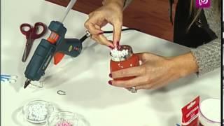 getlinkyoutube.com-فاي سابا تصنع مرطبانات حلوى العيد على شكل خاروف