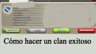 getlinkyoutube.com-Cómo organizar un clan y ser buen líder | Clash of Clans