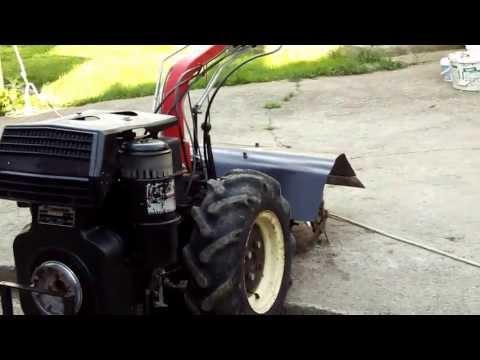 Motocultor Valpadana - motor Lombardini 6LD400 Diesel