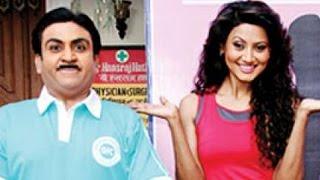 getlinkyoutube.com-Taarak Mehta ka Ooltah Chashmah : Nigaar Khan CAUGHT having fun with Jethalal