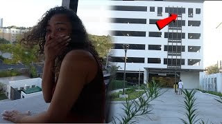getlinkyoutube.com-NOT AGAIN...CRAZY GIRLFRIEND THROWS PS4 OFF A ROOFTOP!!! PRANK GONE WRONG!!