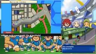 getlinkyoutube.com-Inazuma Eleven 3: Fuego Explosivo - Parte 1 - Pachanga contra matones - Chequio