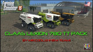 getlinkyoutube.com-Farming Simulator 2015 - CLAAS LEXION 780 TT PACK BY MR.COOL13