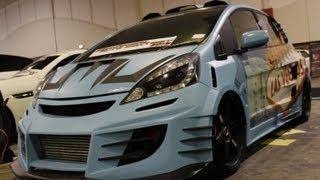 getlinkyoutube.com-Modifikasi Street Racing Xtreme Honda Jazz Las Vegas