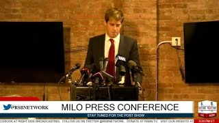 getlinkyoutube.com-Milo Yiannopoulos FULL Press Conference 2/21/17