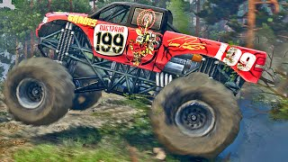 getlinkyoutube.com-Monster Truck na Lama