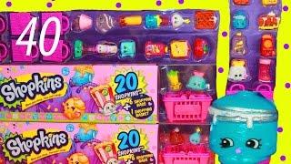 getlinkyoutube.com-Shopkins MEGA PACK Season 2 MEGA Blind Bag Toys 40 Opening Toy Review
