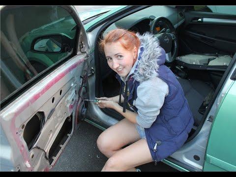 Снятие дверных карт Opel Astra H