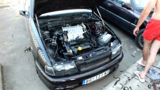 getlinkyoutube.com-Opel Vectra A 1989 3.0 v6 first start 2