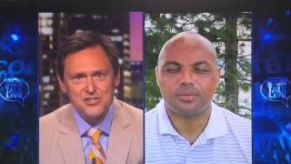 getlinkyoutube.com-Charles Barkley WHY DO U HATE THE GOLDEN STATE WARRIORS?