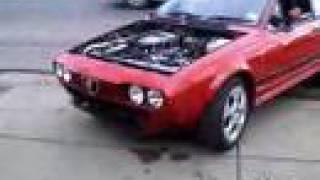 getlinkyoutube.com-Alfa Romeo GTV6 Twin Turbo GTV6GPTT GTV 6 Alfetta Boost Drag Drift Race