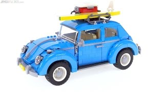 getlinkyoutube.com-LEGO Creator Volkswagen Beetle review! 10252