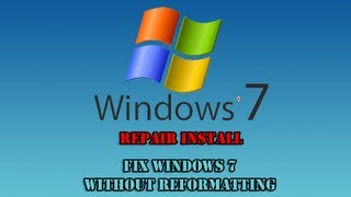 getlinkyoutube.com-Repair Install to Fix Windows 7 Without Reformatting by Britec