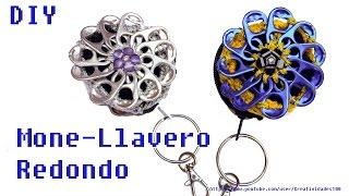 getlinkyoutube.com-Mone-Llavero Redondo con anillas