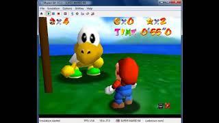 getlinkyoutube.com-Tutorial como conseguir las 120 estrellas en Super Mario 64(1/?)_