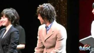 getlinkyoutube.com-Kim Hyun Joong and Goo Hye Sun at BOF Alumni Osaka 2010.8.18 - night time 1