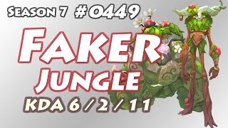 SKT T1 Faker - Ivern Jungle