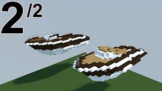 getlinkyoutube.com-Minecraft tutoriel yacht / hors-bord 2/2 :)
