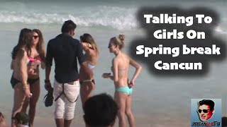 getlinkyoutube.com-How To Pick Up Girls On Spring break CANCUN !