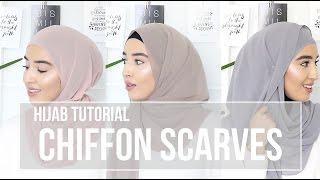 getlinkyoutube.com-HIJAB TUTORIAL | Chiffon Scarves | Fashionwithfaith