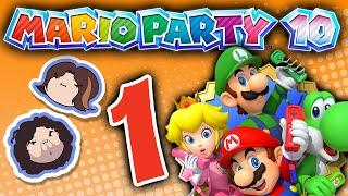 getlinkyoutube.com-Mario Party 10: Stinkin' Thinkin' - PART 1 - Game Grumps VS