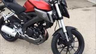 getlinkyoutube.com-Yamaha MT125 - prawdziwy motocykl na kat. B