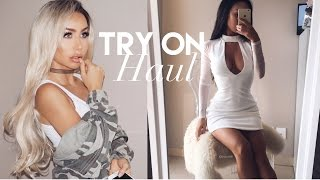 getlinkyoutube.com-Fall Fashion Try On Haul | Missguided, Fashion Nova