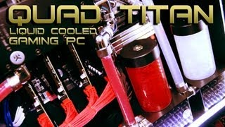 getlinkyoutube.com-VIBOX Killer V - £9,000 Best Gaming PC 2013 Liquid Cooled Quad SLi GTX TITAN - Overclocked i7 3970x