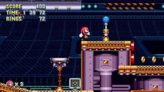 Sonic Mania - Flying Battery Zone Játékmenet