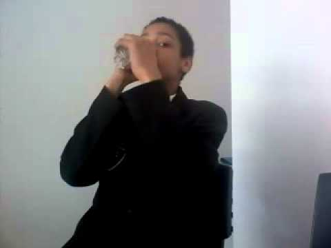 jeremy drinking bottle in under 10 secs