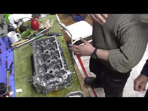 Пример засухаривания клапанов с использованием набора JTC-4944