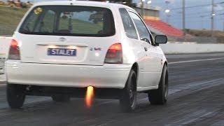 getlinkyoutube.com-Nitrous Toyota Starlet turbo