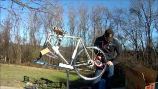 getlinkyoutube.com-Motobecane Ti LeChampion Bike Assembly