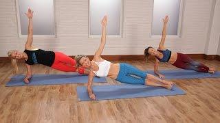 getlinkyoutube.com-Abs-, Butt-, and Arm-Tightening Workout | Class FitSugar
