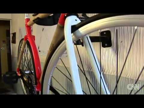 Bicicletas de bambú evitan 'baches' en México