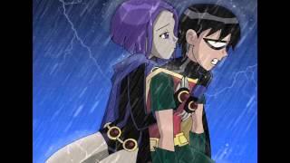 getlinkyoutube.com-Robin and Raven. Robin will always protect Raven.