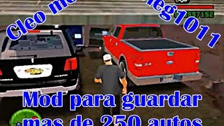 getlinkyoutube.com-Cleo mod para guardar 256 autos