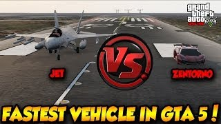 getlinkyoutube.com-GTA 5 ONLINE ZENTORNO VS JET! FASTEST VEHICLE IN GTA !! GTA 5 HIGHLIFE DLC 1.13!