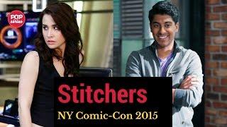 NYCC 2015: Allison Scagliotti e Ritesh Rajan de Stitchers