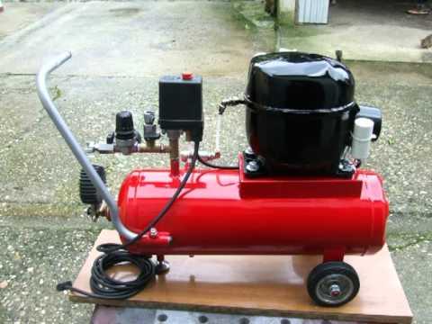 Compressore autocostruito