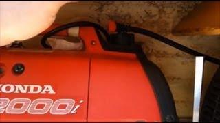 getlinkyoutube.com-Honda EU2000i extended Fuel range Make your own gas caps