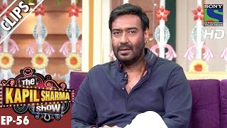 Witty Ajay Devgan Answers Kapil's Questions -The Kapil Sharma Show-Ep.56-30th Oct 2016