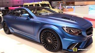 getlinkyoutube.com-2015 Mercedes Benz S63 AMG by Mansory - Exterior and Interior Walkaround - 2015 Geneva Motor Show